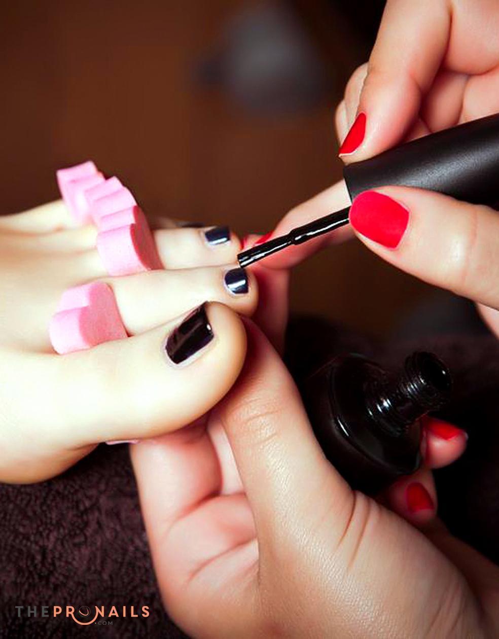 Paris Nails | Polish Change Color Feet